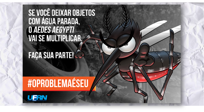 A UFRN no combate ao mosquito Aedes Aegypti