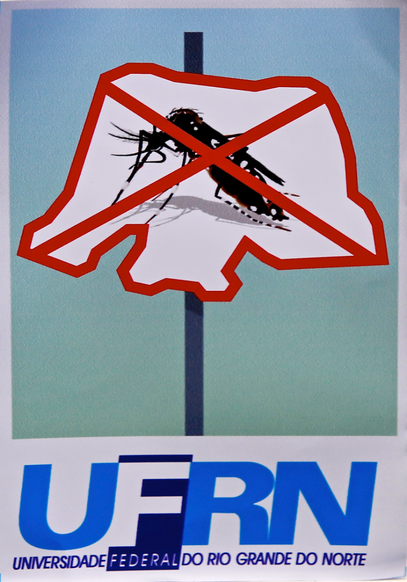 UFRN combate focos do Aedes aegypti na reitoria