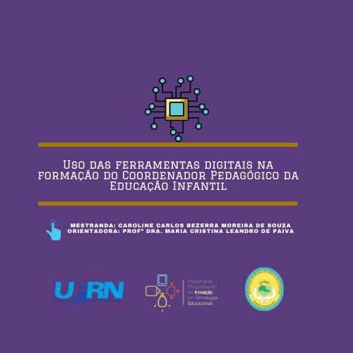 Uso das ferramentas Digitais na formação do Coordenador Pedagógico da Educação Infantil