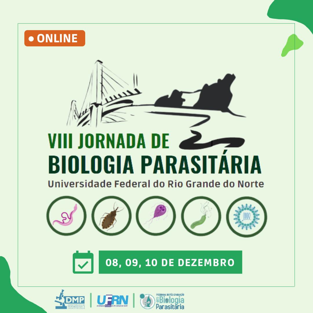 VIII Jornada de Biologia Parasitária